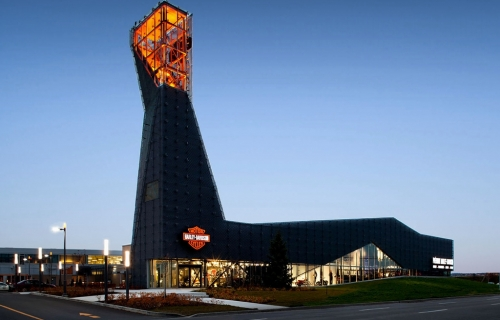 PRÉMONT HARLEY-DAVIDSON SHOWROOM AND MUSEUM